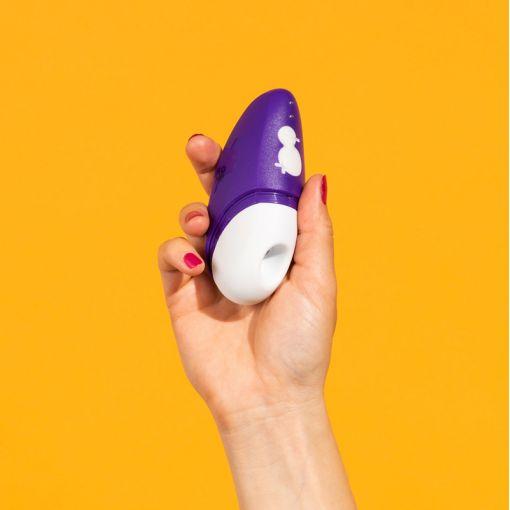Romp by Womanizer Free bezdotykowy masażer łechtaczki fioletowy