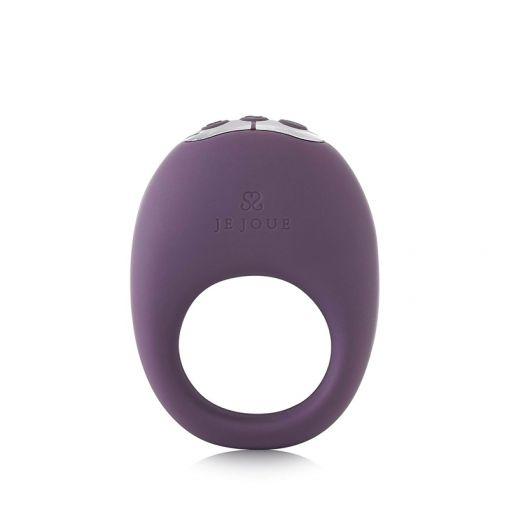Je Joue Mio wibrujący pierścień dla par fioletowy