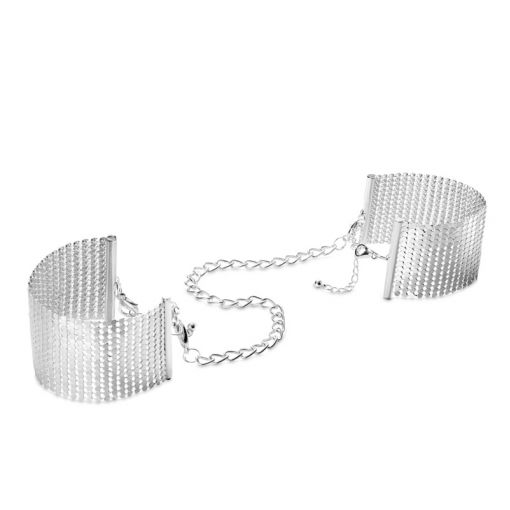 Bijoux Indiscrets Désir Métallique kajdanki z łańcuszków srebrne