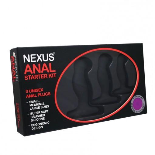 Nexus Anal Starter Kit zestaw korków analnych 3 szt.