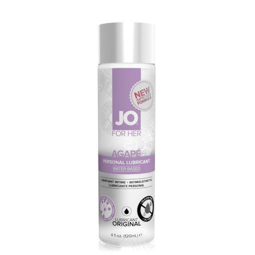 System JO Agapé lubrykant na bazie wody dla kobiet neutralny 120 ml