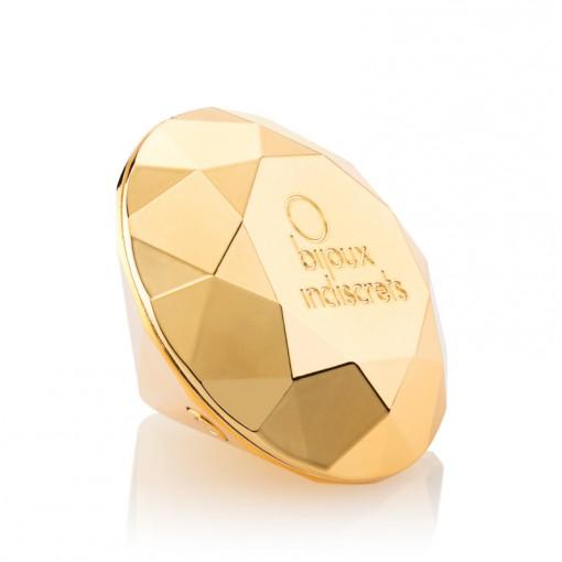 Bijoux Indiscrets Twenty One wibrujący diament złoty