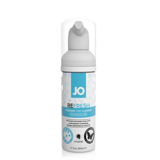 System JO Refresh pianka do czyszczenia zabawek erotycznych 50 ml