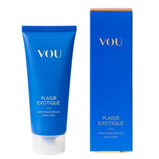 VOU Plaisir Exotique smakowy lubrykant na bazie wody owoce egzotyczne 100 ml