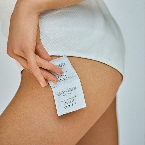 LELO Hex prezerwatywy 3 szt.