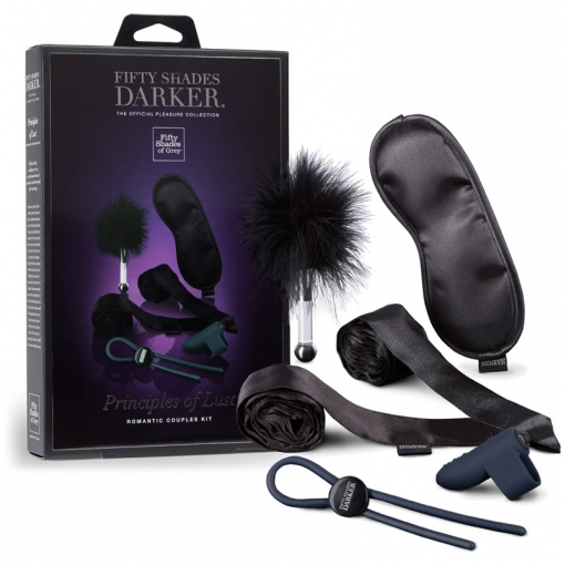 Fifty Shades of Grey Principles of Lust zestaw bondage dla par