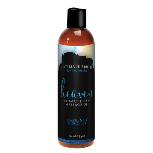 Intimate Earth olejek do masażu Heaven orzechowe biscotti 120 ml