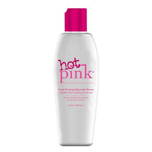 Pink Hot łagodnie rozgrzewający lubrykant na bazie wody 140 ml