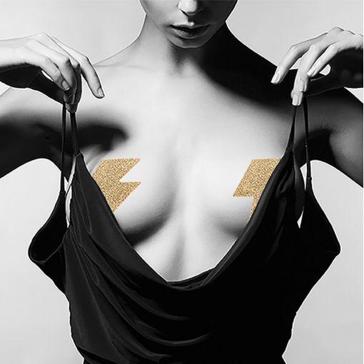 Bijoux Indiscrets Flash nasutniki pioruny złote