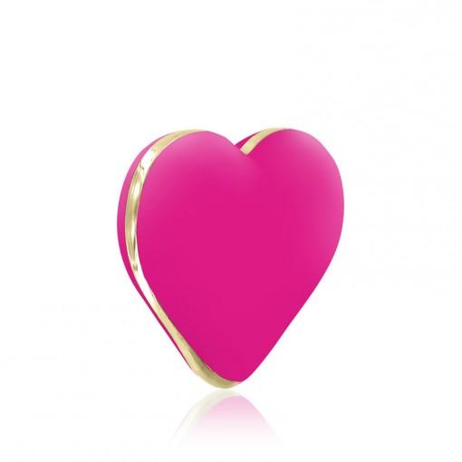 Rianne S Heart Vibe wibrujące serduszko różowe