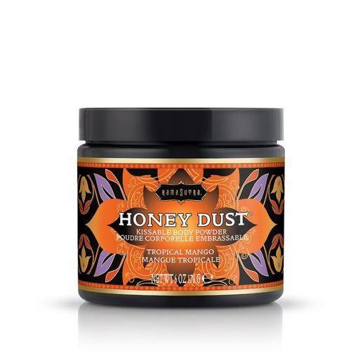 Kama Sutra Honey Dust pyłek do gry wstępnej tropikalne mango 170 g