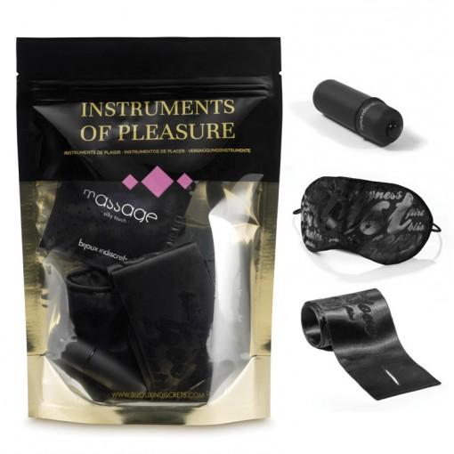 Bijoux Indiscrets Instruments Of Pleasure zestaw akcesoriów dla par Purple