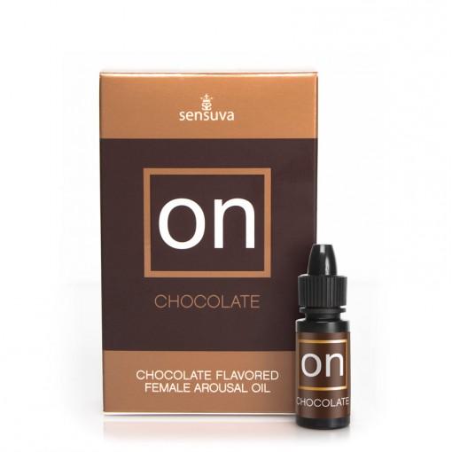 Sensuva ON Oil olejek stymulujący łechtaczkę czekoladowy 5 ml