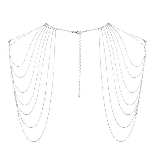 Bijoux Indiscrets Magnifique łańcuszek na ramiona srebrny
