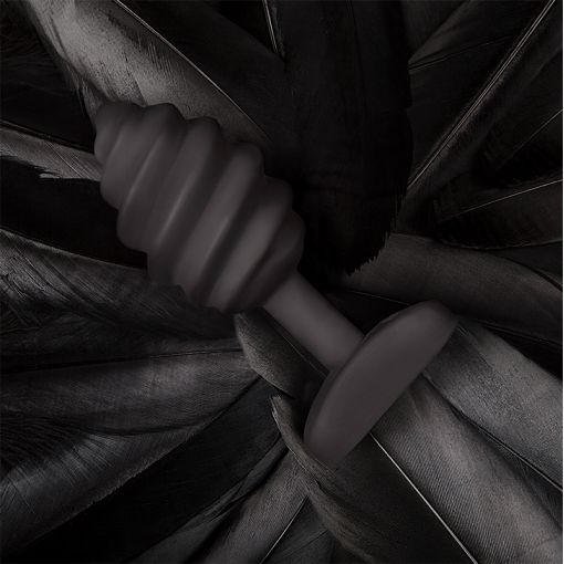 Gvibe Gplug Twist wibrujący korek analny czarny