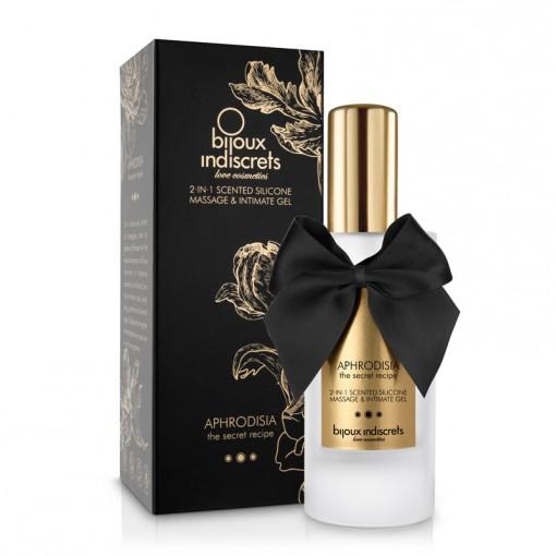 Bijoux Indiscrets Aphrodisia 2w1 żel intymny i do masażu róża, ylang-ylang, jaśmin 100 ml