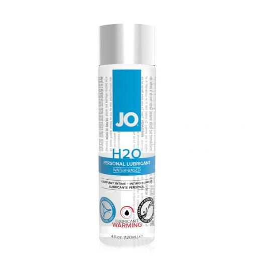 System JO H2O uniwersalny lubrykant na bazie wody rozgrzewający 120 ml