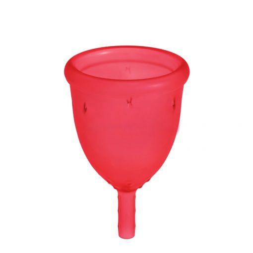 LadyCup kubeczek menstruacyjny wiśniowy rozmiar S
