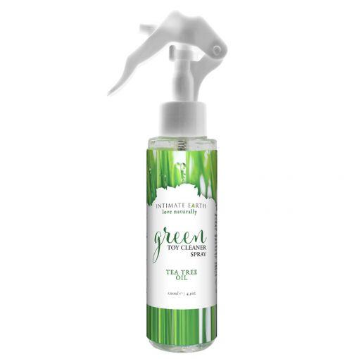 Intimate Earth Green organiczny spray do czyszczenia zabawek erotycznych 120 ml