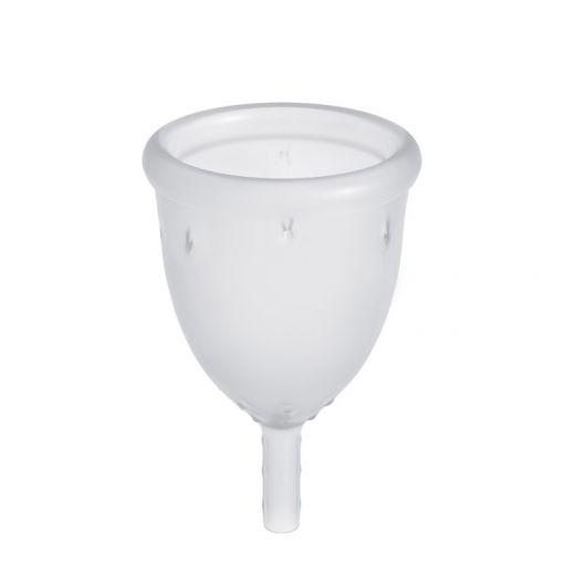 LadyCup kubeczek menstruacyjny transparentny rozmiar L