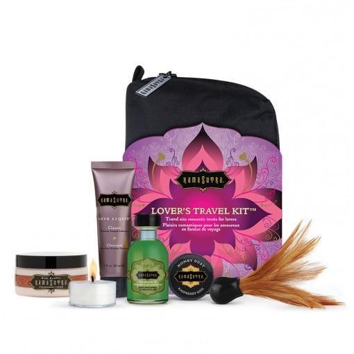 Kama Sutra podróżny zestaw kosmetyków do gry wstępnej Lovers Travel Kit wielosmakowy