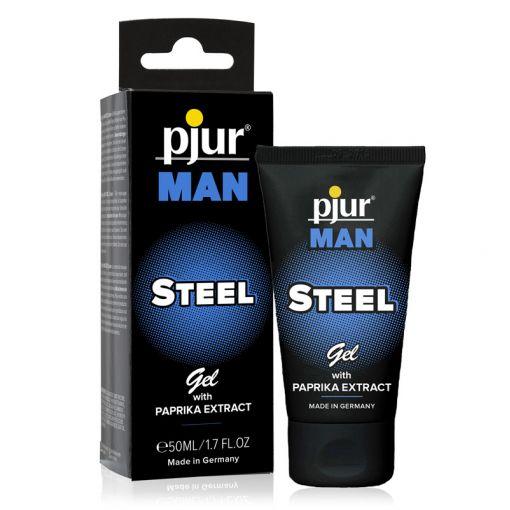 Pjur Man Steel stymulujący żel z ekstraktem z papryki dla mężczyzn 50 ml