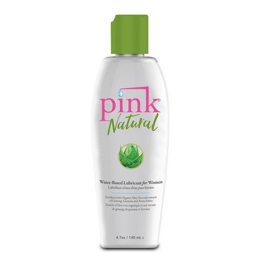 Pink Natural łagodzący lubrykant z organicznym aloesem 140 ml