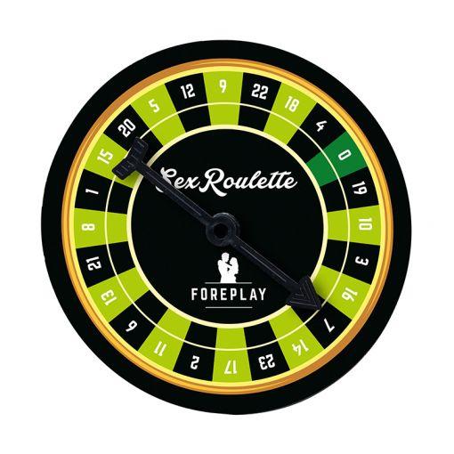 Tease & Please Sex Roulette gra erotyczna dla par Foreplay - gra wstępna