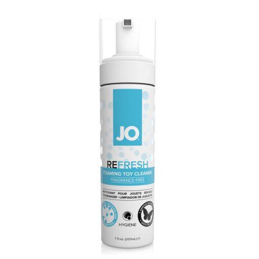 System JO Refresh pianka do czyszczenia zabawek erotycznych 207 ml