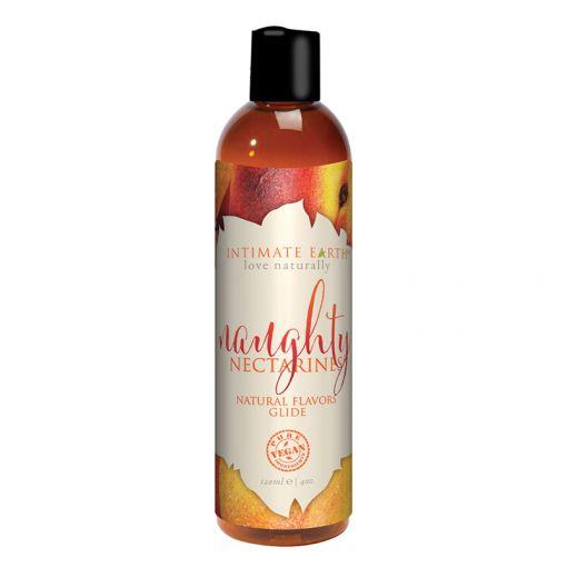 Intimate Earth Oral Pleasure organiczny lubrykant na bazie wody nektarynkowy 120 ml