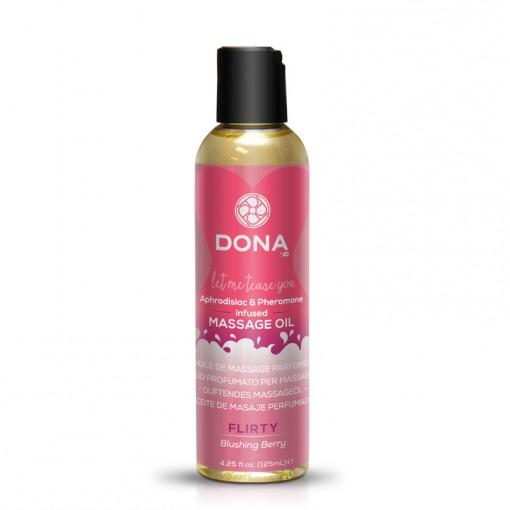Dona olejek do masażu zapachowy Flirty owoce leśne 110 ml