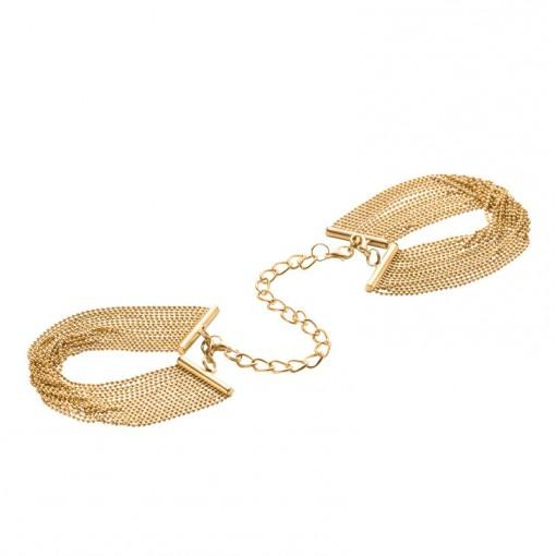Bijoux Indiscrets Magnifique kajdanki z łańcuszków złote