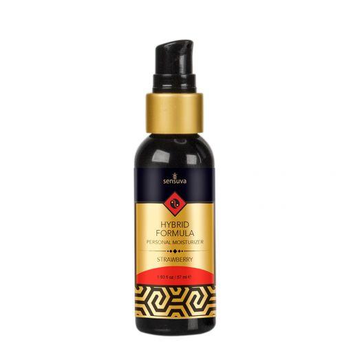 Sensuva lubrykant hybrydowy truskawkowy - 57 ml