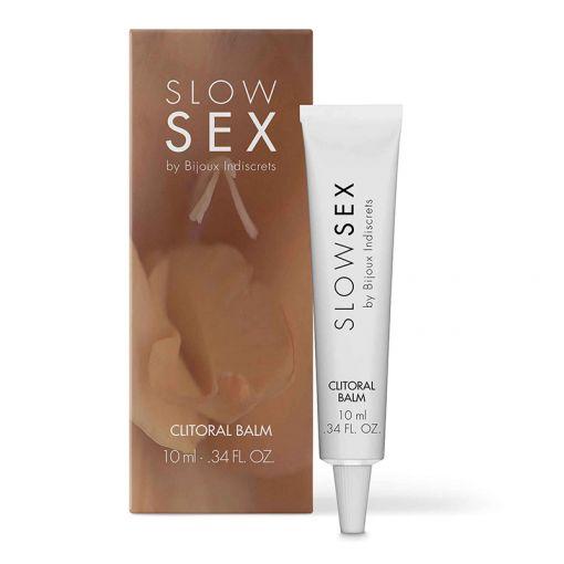 Bijoux Indiscrets Slow Sex rozgrzewający balsam do łechtaczki 10 ml
