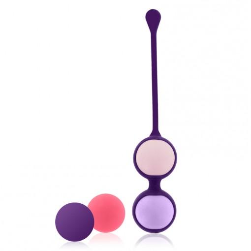 Rianne S Pussy Playballs kulki gejszy z kosmetyczką koralową