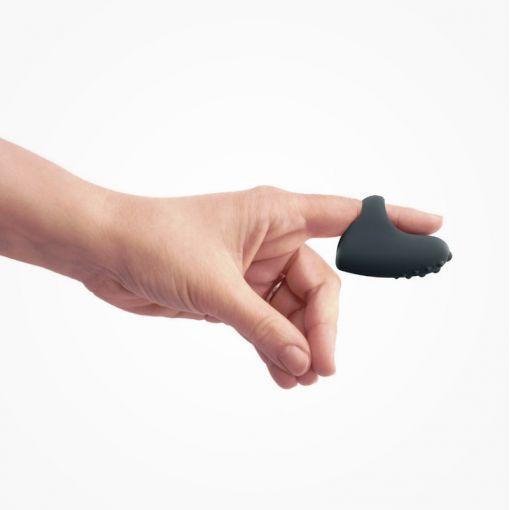 Dorcel Magic Finger masażer łechtaczki zakładany na palec ciemnoszary