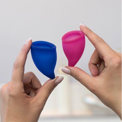 Fun Factory Fun Cup zestaw kubeczków menstruacyjnych rozmiar A + B - 2 szt.
