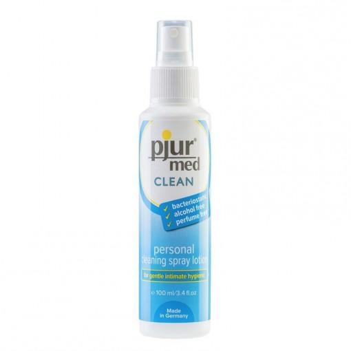 Pjur Med Clean spray do higieny miejsc intymnych i czyszczenia zabawek erotycznych 100 ml