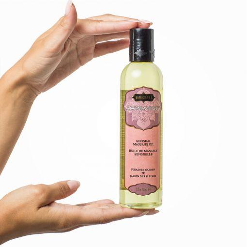 Kama Sutra Aromatic olejek do masażu róża, jaśmin i drzewo sandałowe 236 ml