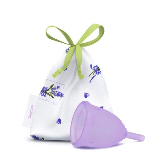 LadyCup kubeczek menstruacyjny lawendowy rozmiar S