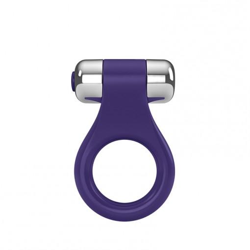 OVO B1 wibrujący pierścień dla par fioletowy