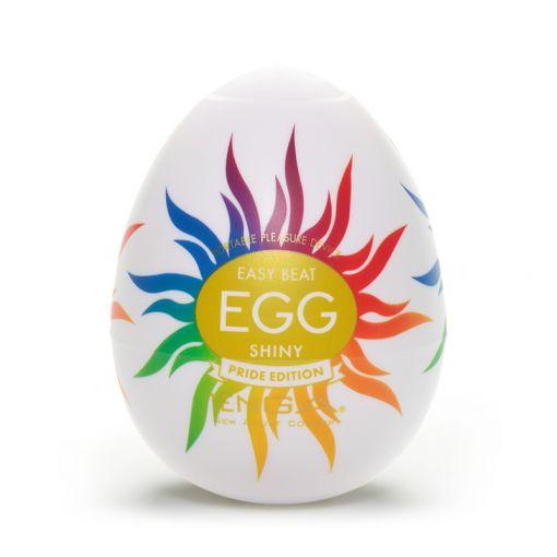 Tenga Egg Rainbow Pride 2020 masturbator w kształcie jajka Shiny