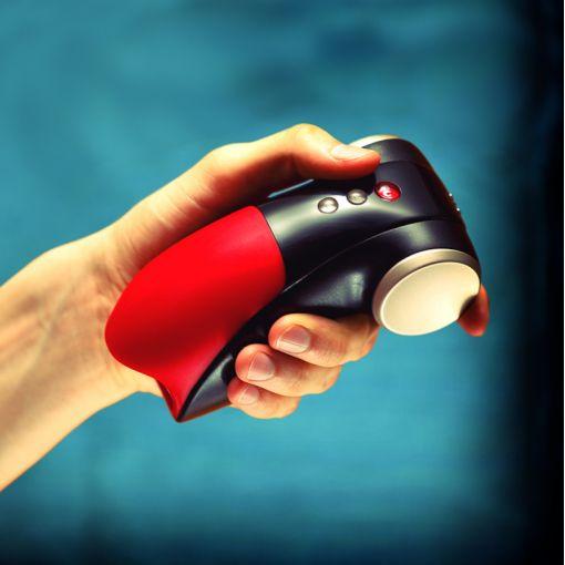 Fun Factory Cobra Libre II wibrujący masażer dla mężczyzn czerwono-czarny
