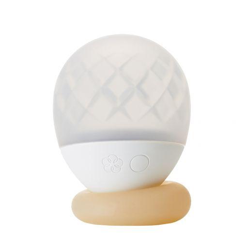 Iroha Ukidama lampka do wanny i masażer kąpielowy Také - biało-kremowy