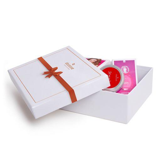 Obsessive pudełko prezentowe białe