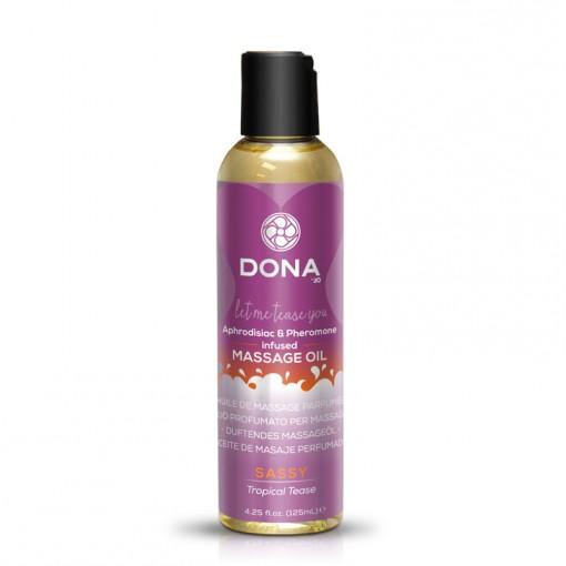 Dona olejek do masażu zapachowy Sassy owoce tropikalne 110 ml