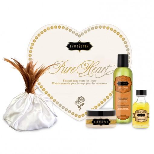 Kama Sutra prezentowy zestaw kosmetyków do gry wstępnej Pure Heart waniliowy