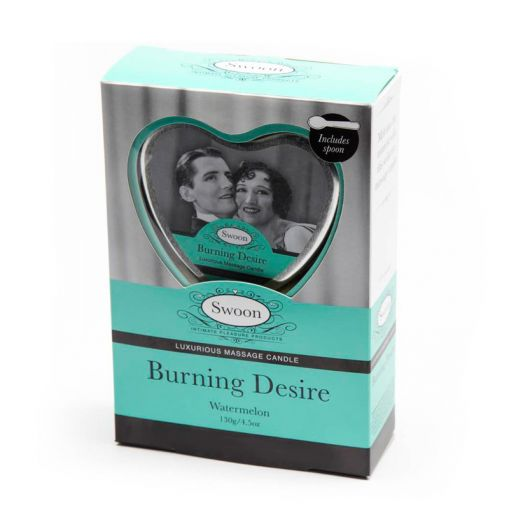 Swoon Burning Desire świeca do masażu 130 g