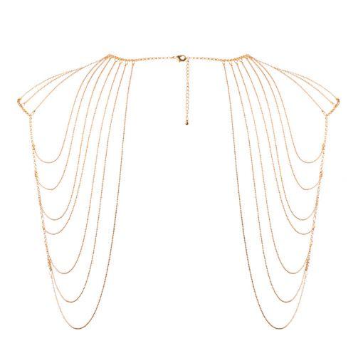 Bijoux Indiscrets Magnifique łańcuszek na ramiona złoty