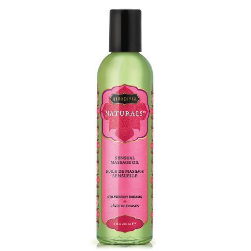 Kama Sutra Naturals olejek do masażu truskawkowy 236 ml